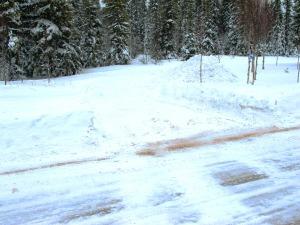 Foton från gångvägen